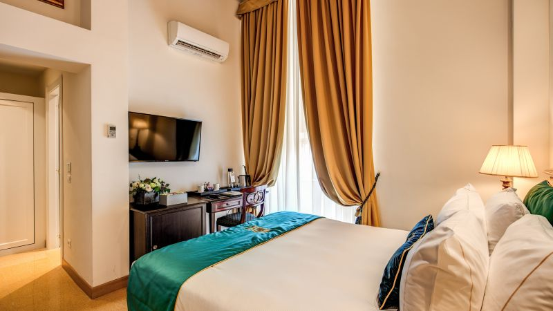 Hotel-Eitch-Borromini-Roma- habitación-clásica-6